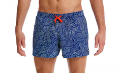 Funky Trunks Men's Shorty Shorts - Huntsman