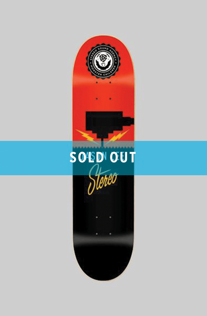 STEREO X MC - JASON LEE LIMITED EDITION DECK