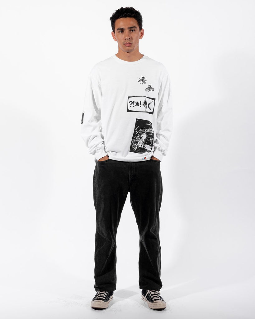 PATCH MC Long Sleeve, White