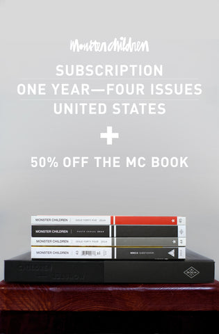 1 Year Subscription International + 50% MC Hardcover Book (Free Shipping)