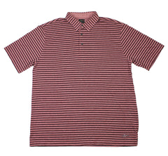 Greg Norman Striped Golf Polo Shirt Mens Size XXL