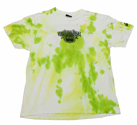 Quiksilver Green Tie Dye Shirt Mens Size Medium