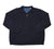 Tommy Bahama Navy Blue 1/2 Zip Sweater Mens Size Large
