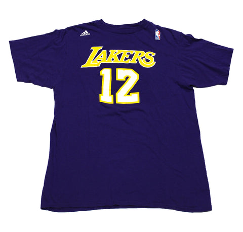 Adidas Los Angeles Lakers Dwight Howard #12 Jersey Shirt Mens Size Large
