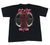 08/09 AC/DC Black Ice Concert Tour Shirt Mens Size Medium