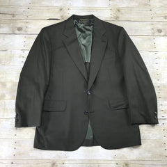 Vintage Brooks Brothers Wool 2-Button Single Vent Suit Jacket Made in USA Mens Size 41S