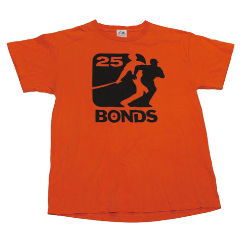 Vintage Majestic San Francisco Giants Barry Bonds Shirt Mens Size Medium