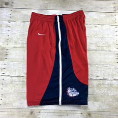 Nike Authentic Gonzaga Bulldogs NCAA College Basketball Shorts Mens Size XL