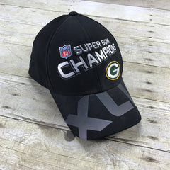 Reebok On Field Super Bowl XLV Green Bay Packers Champions Flex Fit Hat