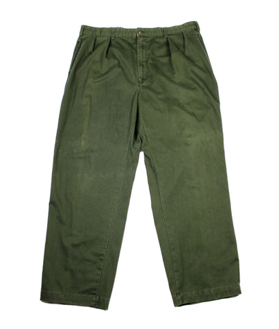 Vintage Polo by Ralph Lauren Army Green Chino Pants Size W40 x L30