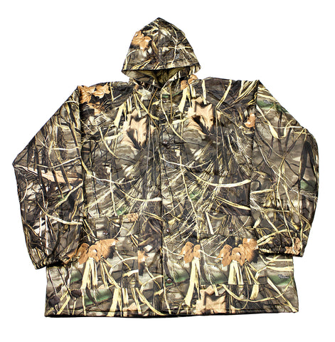 Real Tree Camouflage Dry Wear Camo Hunting Jacket Mens Size XXL