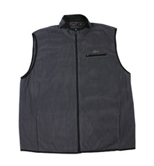 Greg Norman Gray Fleece Golf Vest Mens Size XXL