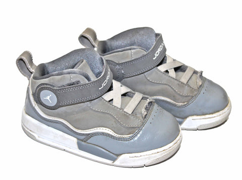 2012 Air Jordan Cool Grey Shoes Infant Size 8C