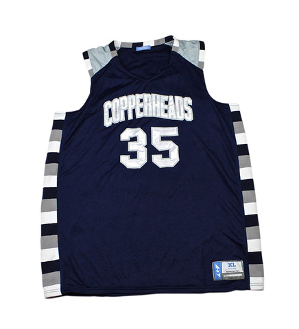 Copperheads Basketball Jersey #35 Mens Size XL