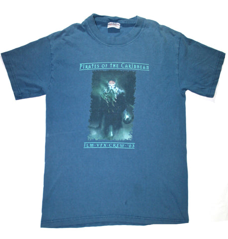 2003 Pirates of The Caribbean ILM VFX Crew Shirt Mens Size Small