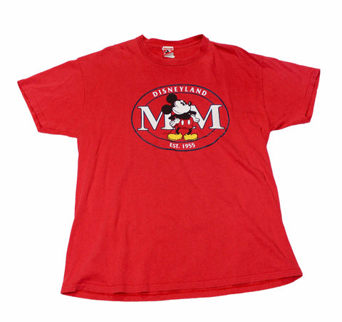 Vintage 90s Disneyland Mickey Mouse Shirt Made in USA Mens Size XL