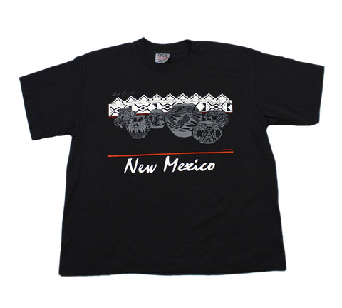 Vintage 80s Las Cruces New Mexico Shirt Made in USA Mens Size Large