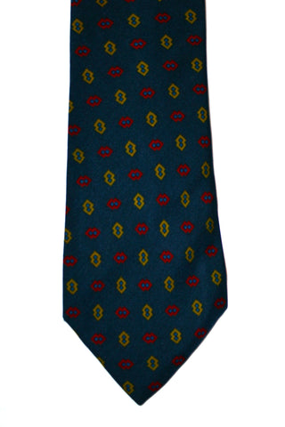 Vintage Cable Car Clothiers Robert Kirk Silk Necktie