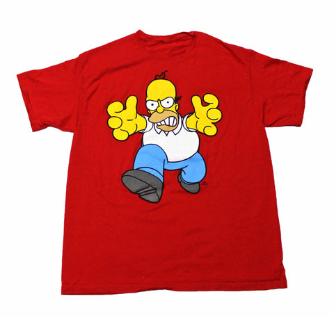 Vintage Homer Simpson Shirt Mens Size Large