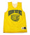 Vintage Nothin' But Net White/Yellow Reversible Basketball Jersey Mens Size Small