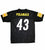 Pittsburgh Steelers #43 Troy Polamalu Football Jersey YOUTH Size Large