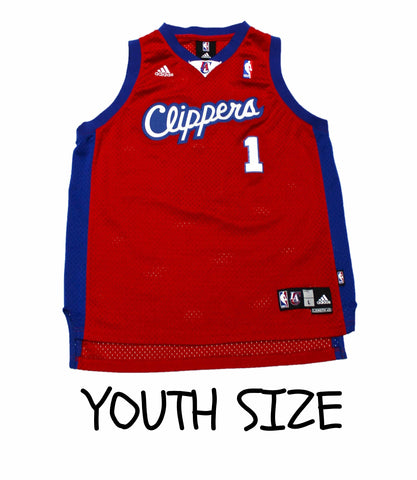 Adidas Los Angeles Clippers Baron Davis #1 NBA Jersey YOUTH Size Large