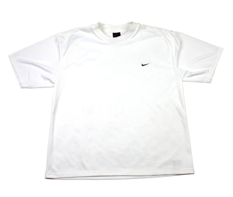 Vintage 90s Nike Alpha Project White Shirt Made in USA Mens Size Medium