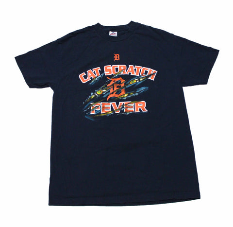 2006 Detroit Tigers Cat Scratch Fever Shirt Mens Size Large