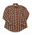 Vintage Dakota by Five Brothers Lightweight Plaid Pearl Snap Button Up Shirt Mens Size Medium