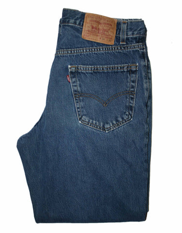 Vintage Levis 550 Relaxed Fit Jeans Made in USA Mens Size W32 x L30