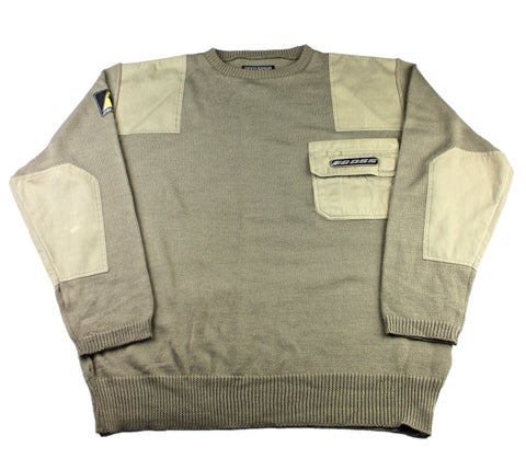 Vintage 90s Boss Tan Sweater Mens Size XL