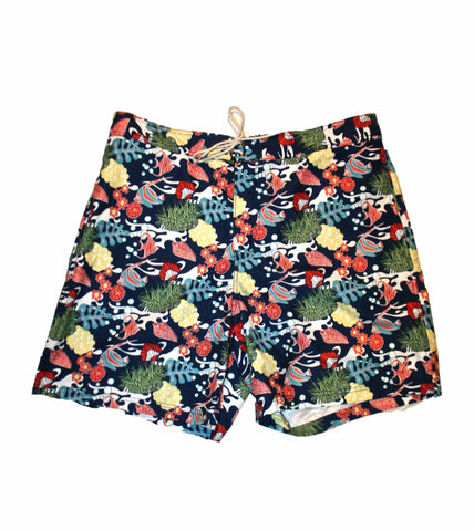 Nautica Tropical Coral Reef Swim Trunks Mens Size XXL