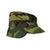 Vintage Camouflage Military Cap with Ear Flaps Size 7