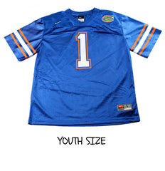 NIKE Florida Gators #1 College Football Jersey YOUTH Size Large