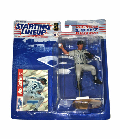 Vintage 1997 Starting Lineup Alex Rodriguez Seattle Mariners Figure