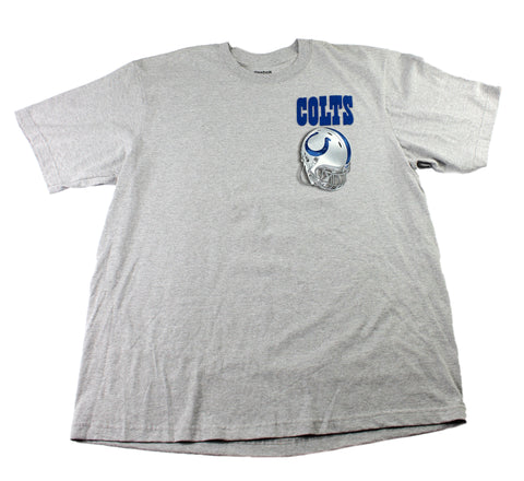 2010 Reebok Indianapolis Colts Schedule T-Shirt Mens Size XL