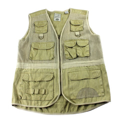 Vintage 90s Bugle Boy Outdoors Vest Mens Size Medium