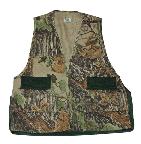 Vintage 90s Realtree Camouflage Hunting Vest Mens Size Small