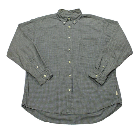 J.Crew Olive Green Button Down Shirt Mens Size Large