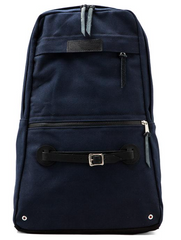 Wheelmen & Co. Scout Series Navy Blue Backpack