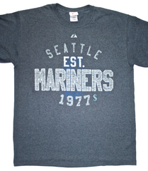 Vintage Seattle Mariners Majestic Shirt Mens Size Large