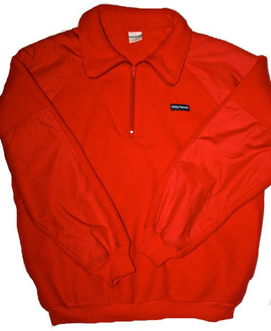 Vintage Helly Hansen Red Fleece Jacket Made in USA Mens Size XL