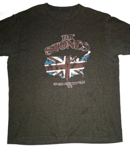 Retro Style Rolling Stones 1981 North American Tour Shirt Mens Size XL