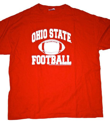 Vintage Red Ohio State Football Mens Shirt Size XL