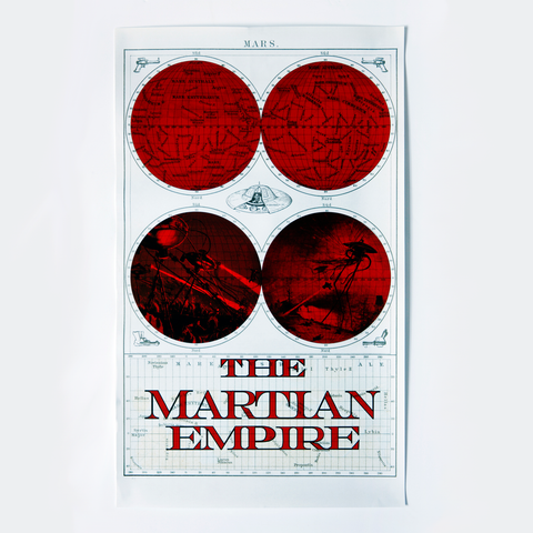The Martian Empire Poster