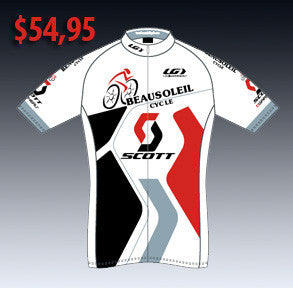 Maillot cycliste Beausoleil Cycle / Scott