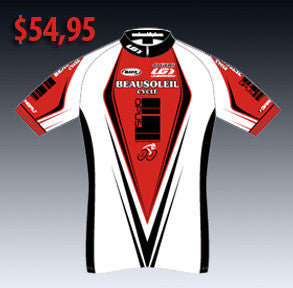 Maillot cycliste Beausoleil Cycle / Opus - Rouge