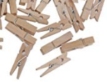 Mini clothes pegs -100/pack
