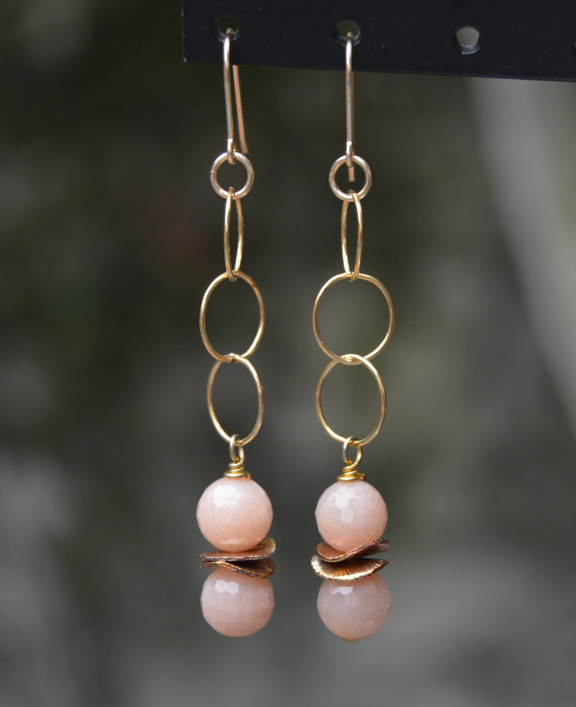 Dangly Goldfilled Earrings