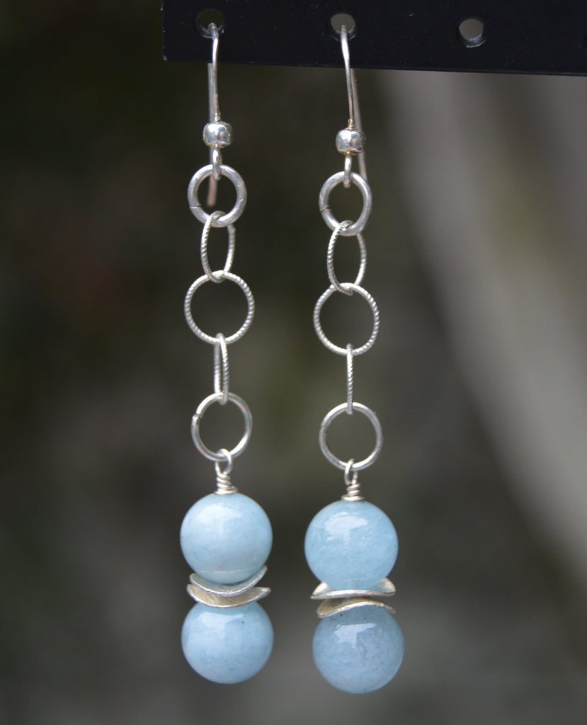 Dangly Sterling silver earrings